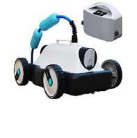 Робот-пылесос Mia. Режим - дно (уклон до 15°). Длина кабеля - 9 м. Степень очистки - 100 мкм. Мощность -150 Вт