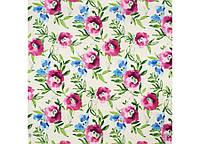 Акварельные цветы ткань для штор Испания скидка