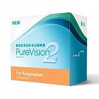 Контактны линзы на 1 месяц PureVision 2 for Astigmatism