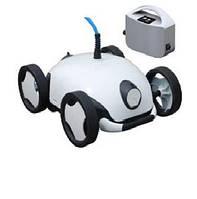 Робот-пылесос Falcon. Режим - дно (уклон до 35°). Длина кабеля - 12 м. Степень очистки -100 мкм Мощность -150