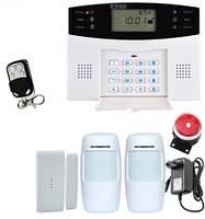 Комплект сигнализации GSM-015 в оригинальной коробке. Комплект №1
