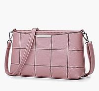 Небольшая женская сумка розовая