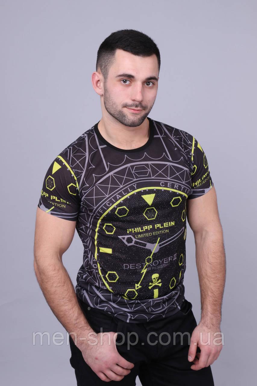 Стильная футболка мужская в стиле PHILIPP PLEIN