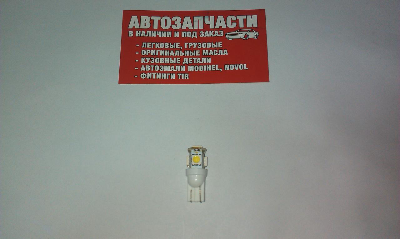 Лампа без цокольная 24V 5 диодов