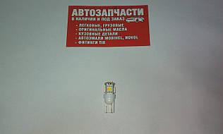 Лампа без цоколя 24V 5 диодов белая