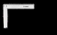 Кутник будівельний, алюмінієвий, 350 мм