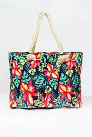 Пляжная сумка Бенидорм зеленая