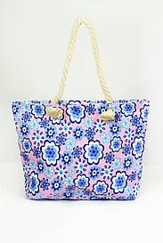 Пляжная сумка Бенидорм голубая