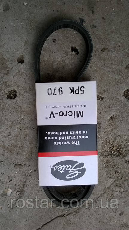 Ремінь генератора Ланос 5РК970 GATES