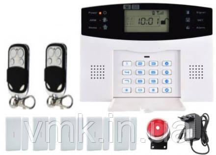 Комплект беспроводной сигнализации GSM-015 в оригинальной коробке. Комплект №4