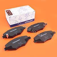 Колодки тормозные передние без ушка KONNER Chery Amulet Чери Амулет A11-6GN3501080