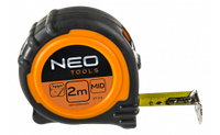 Рулетка, сталева стрічка 5 м x 25 мм, магніт NEO