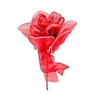Роза одиночная #3 красная (16 см)
