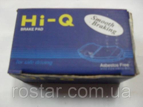 Колодки гальм (передні) HI-Q SP1158 Авео