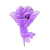 Роза одиночная #6 сиреневая (16 см)