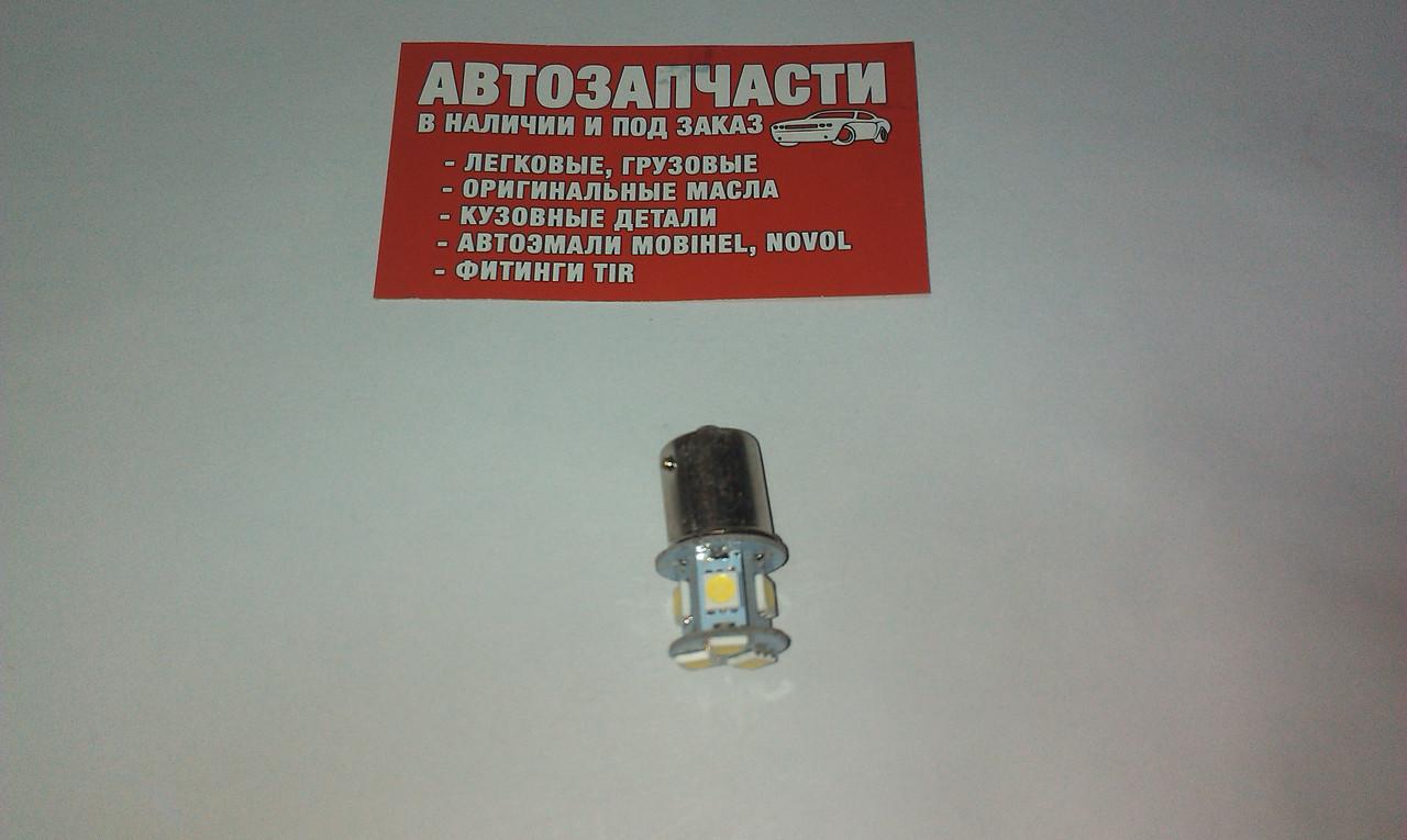 Лампа цокольная 24V (большой цоколь) 1 конт 8 диодов