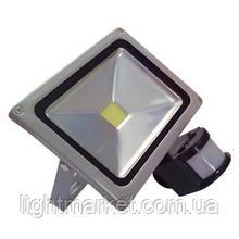 Прожектор светодиодный с датчиком 20w