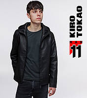 11 Kiro Tokao | Мужская демисезонная куртка 3341 черная