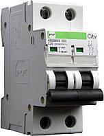 Модульний автоматичний вимикач Промфактор АВ2000 CITY, 2Р, 6-63А, 4.5кА, С