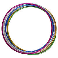 Пластиковый легкий обруч для гимнастики D=65см