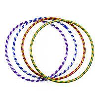Обруч гимнастический двухцветный D=55см