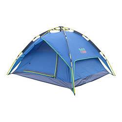 Легкая двухслойная палатка 3-х местная GreenCamp 1831