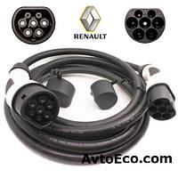 Зарядный кабель Renault Zoe Z E Type 2 (Mennekes) - Type 2 (Mennekes) (32A - 5 метров)