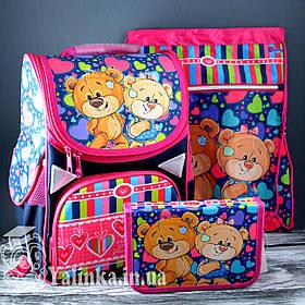 Школьный набор для девочек Мишки