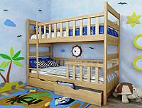 """Кровать двухъярусная детская подростковая от """"Wooden Boss"""" Марко Плюс (спальное место 80х160)"""