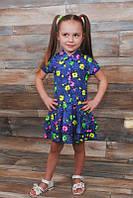 Детское платье на рост: 80-122см (100% хлопок)