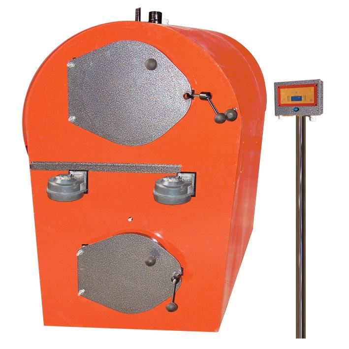 Промышленный пиролизный твердотопливный котел с газификацией древесины Анкот 500