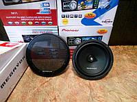 Компонентная акустика Megavox MJW-SP683 16см 380Вт колонки динамики в авто НЧ мид-бас