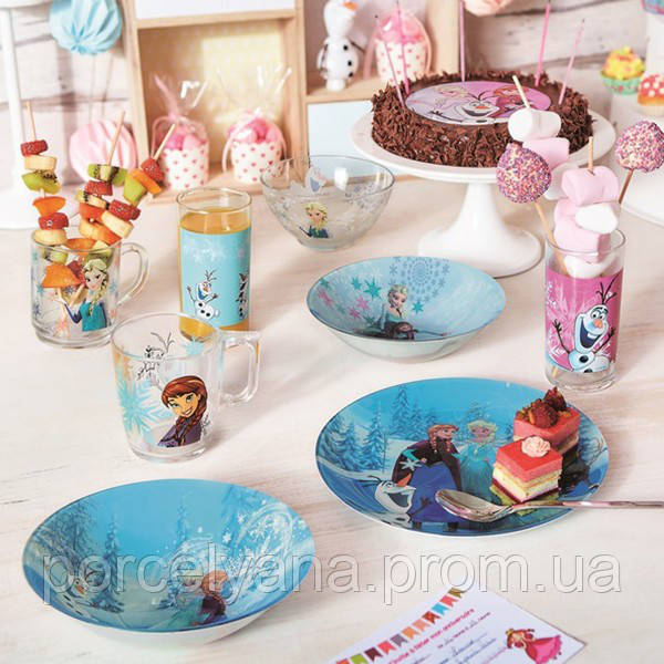 Детская тарелка Disney Frozen