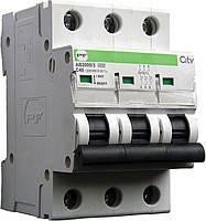 Модульний автоматичний вимикач Промфактор АВ2000 CITY, 3Р, 6-63А, 4.5кА, С