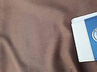 """Льняная плотная скатертная ткань """"Пралине"""" (шир. 150 см)"""