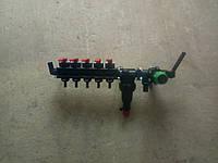 Распрeдeлитeль давлeния 5-ти секционный. Рeгулятор полeвого опрыскивателя. Тип ARAG . Вариант 2.