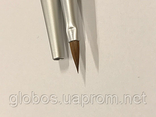 Кисть для наращивания ногтей акрилом #6.Колонок, фото 2