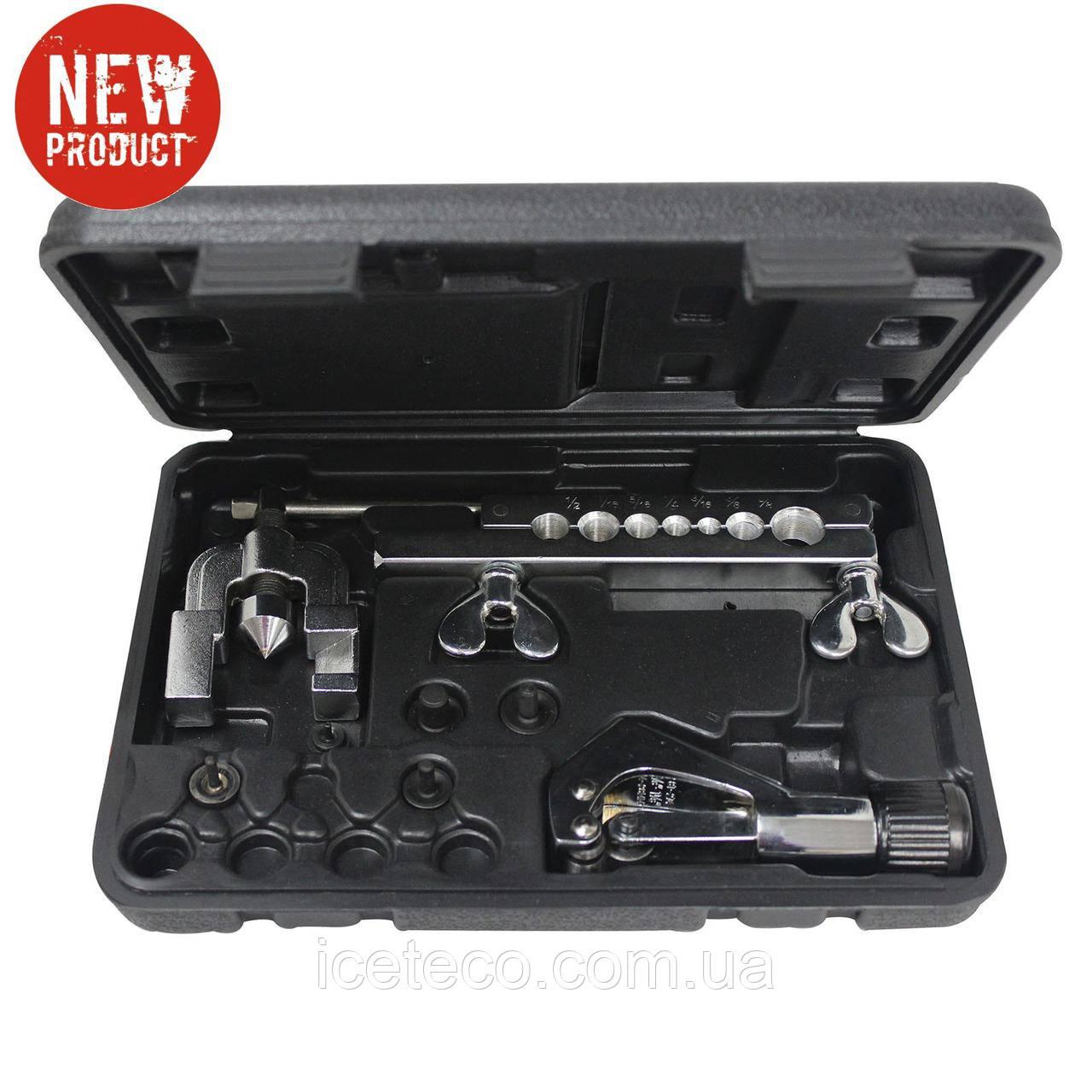Вальцовочный комплект МС 70092 Mastercool для двойного борта, труборез в комплекте