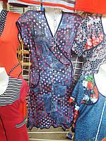 Женский халат трикотажный летний 1560  (П.Ш.М.)