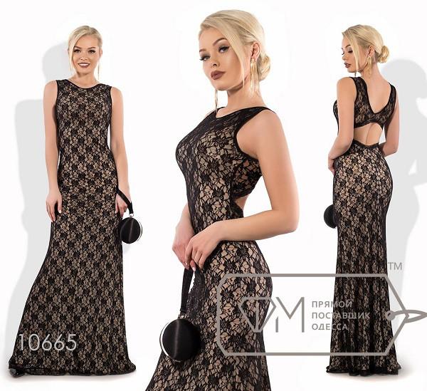 Платье в пол облегающее женское,норма р.42,44,46  Фабрика Моды