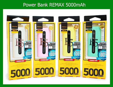 Аккумулятор Power Bank REMAX 5000mAh, фото 2
