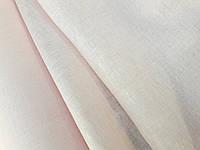 Ткань Лён - марлевка нежно-розового цвета