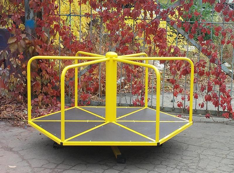 Карусель детская КР-608 для катания стоя