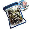 Водонепроницаемая сумка для мужских плавок Keep calm and swim fast (размер S)