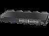 SMART коммутатор, 24 порта 10/100 / 1000Base-TX и 4x1000Base-X SFP порты.