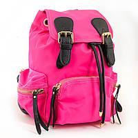 Молодежный сумка-рюкзак,ярко-розовый