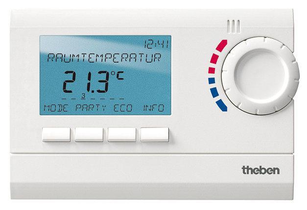 Цифровой программный комнатный термостат Theben RAMSES 812 top2, th 8120132