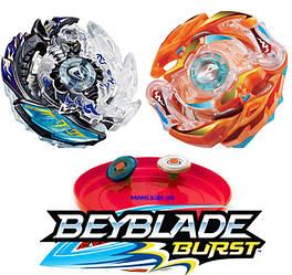 Бейблейд Beyblade Burst Killer Deathscyther и Blaze Ragnarok Супер Выносливость
