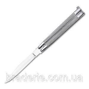 Нож-бабочка 935 white