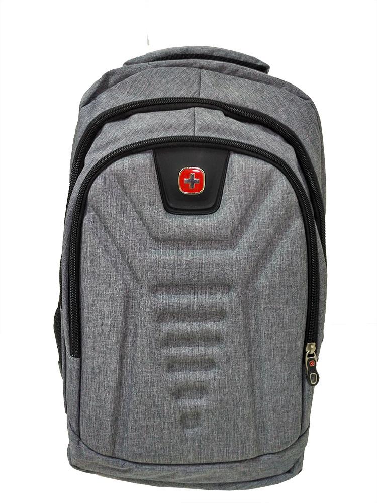Городской рюкзак с USB 23L MK1982 Silver